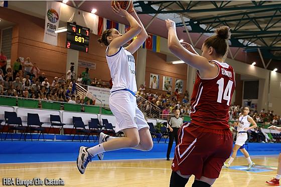Basket femminile, Francia-Italia 74-53: 15 punti per Elisa Penna