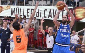 Trentino Basket Cup Datome in azione