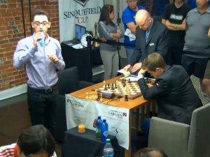 Scacchi, Caruana, Carlsen