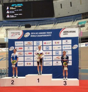 Mondiali ciclismo pista juniores, Martina Alzini