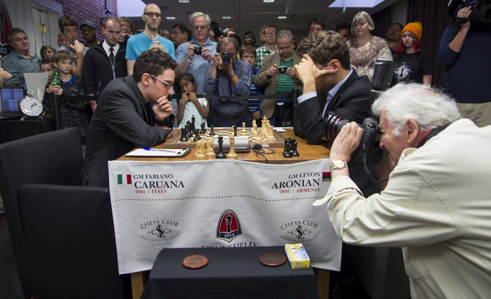 Caruana, Saint Louis, Sinquefield Cup