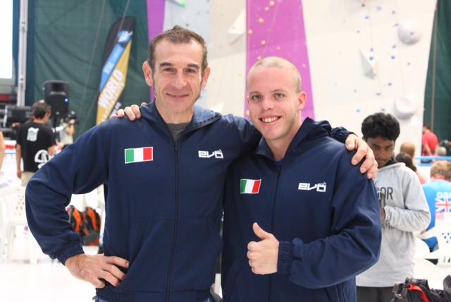 Mondiali Arrampicata Sportiva - Leonardo Gontero
