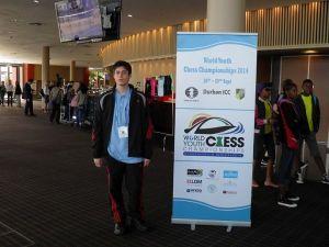 Mondiale U18 scacchi, Mondiale giovanile scacchi, Francesco Rambaldi