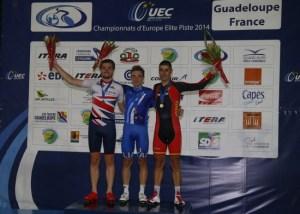 Campionati Europei Pista 2014, Elia Viviani,