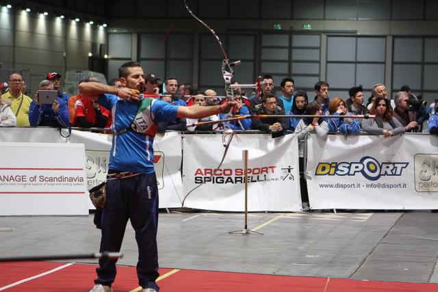 Massimiliano Mandia, Campionati Italiano Indoor di Tiro con l'Arco