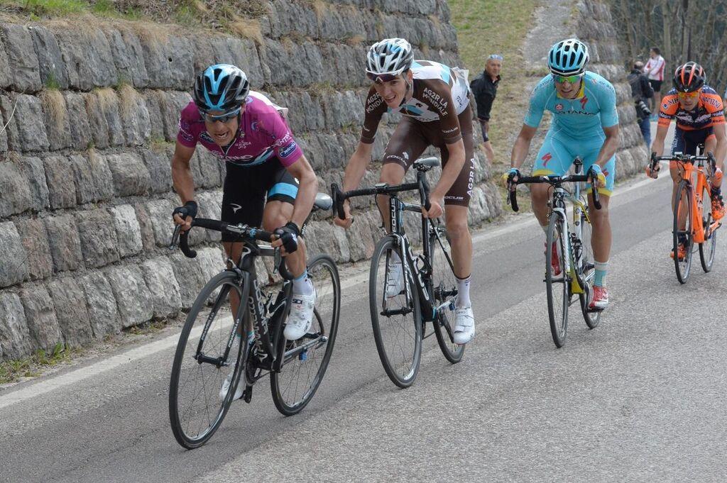 Porte in azione al Giro del Trentino