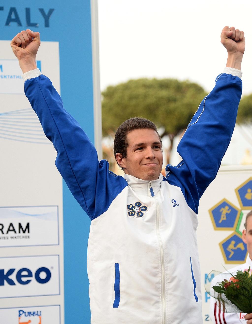 Coppa del Mondo Pentathlon 2015, Pier Paolo Petroni