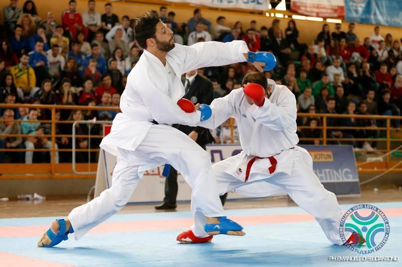 Nello Maestri, karate