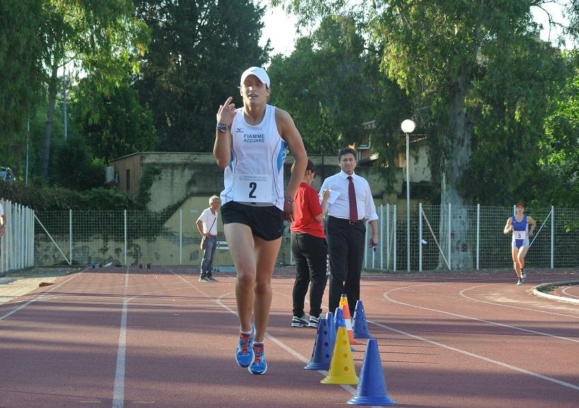 Chiara Tocchi, Tricolori assoluti 2015 pentathlon