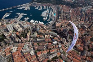 Christian Maurer (SUI1) flies during the Red Bull X-Alps 2013, Monaco on July 17th, 2013
