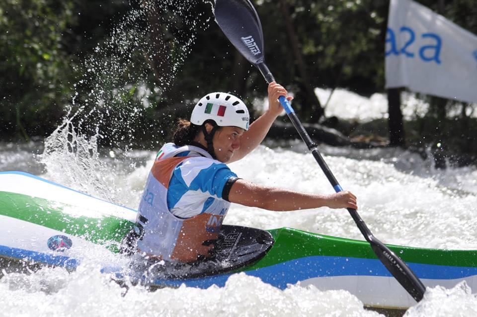 Mondiali canoa discesa, Costanza Bonaccorsi