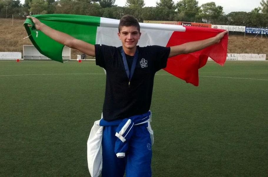 Matteo Cicinelli, Campionato Europeo Pentathlon Youth A