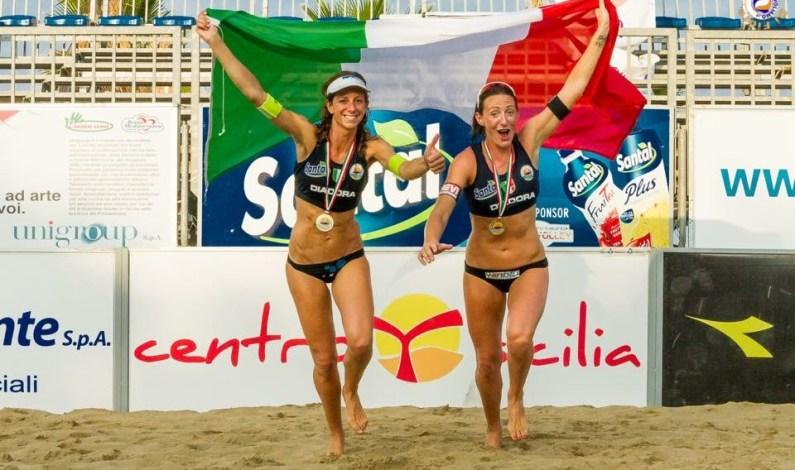 Tricolori beach volley: titoli a Momoli-Cicolari e Ranghieri-Carambula
