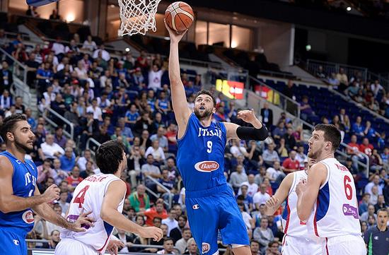 Eurobasket 2015, Andrea Bargani