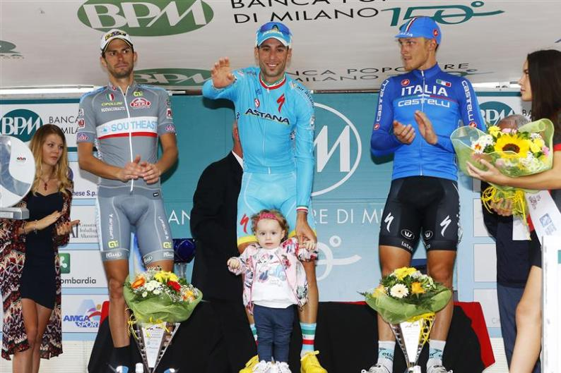 Nibali vince la Bernocchi e vola a Richmond 2015