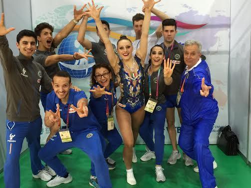 Mondiali Aerobica 2016, Michela Castoldi