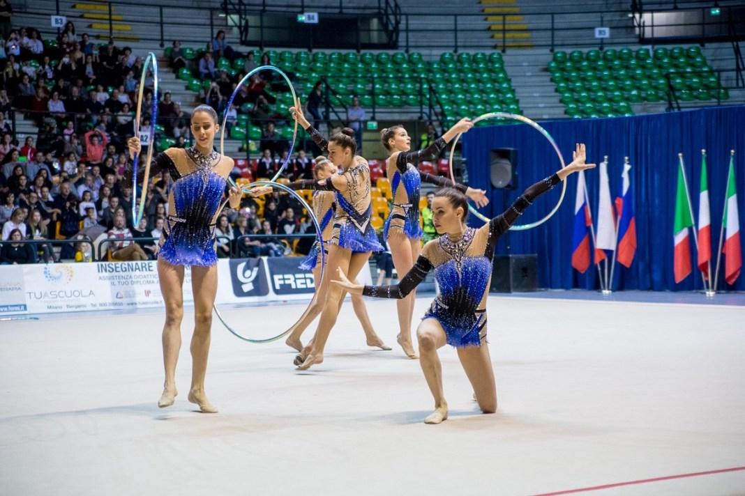 Bilaterale Italia Russia 2017, azzurre ginnastica ritmica,