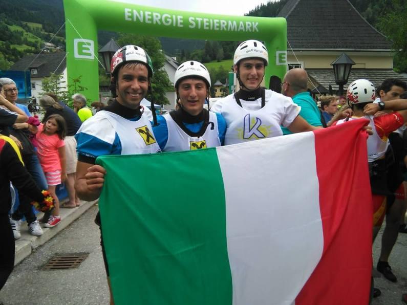 Canoa discesa, 5 medaglie per l'Italia nel 2° giorno dei Mondiali Jrs e U23