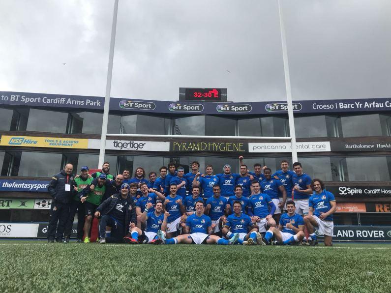 6 Nations Festival U18, Italia supera l'Inghilterra 32-30