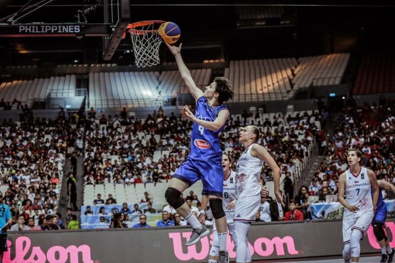 FIBA 3×3 World Cup: le Azzurre sono Campioni del Mondo!