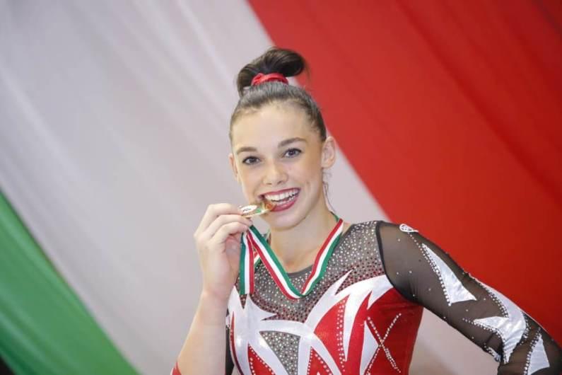 Giorgia Villa è la nuova regina della Ginnastica Artistica italiana