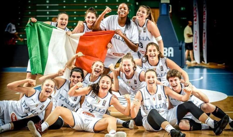 Dal 22 al 30 agosto a Skopje l'Europeo Basket U16 femminile
