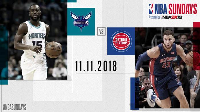 NBA Sundays: tra Hornets e Pistons è sfida per il primo posto