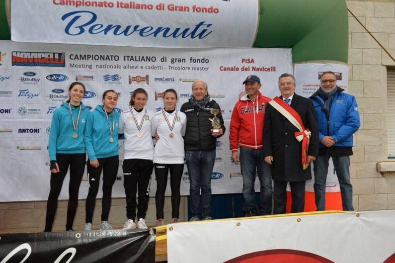 Granfondo canottaggio: assegnati a Pisa i titoli italiani 2019