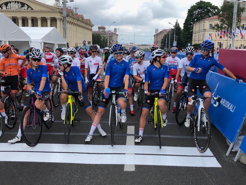 Azzurre ciclismo Minsk2019