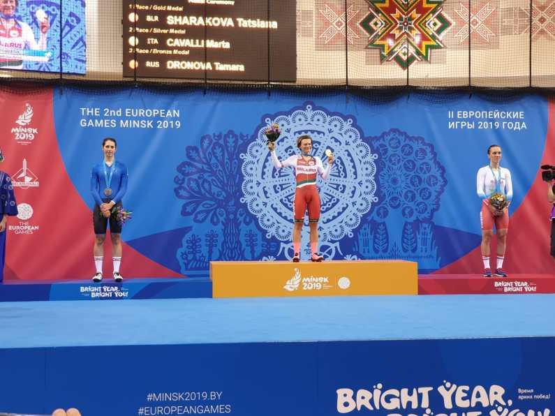 Minsk2019 ciclismo – La pista porta otto medaglie allo sport italiano