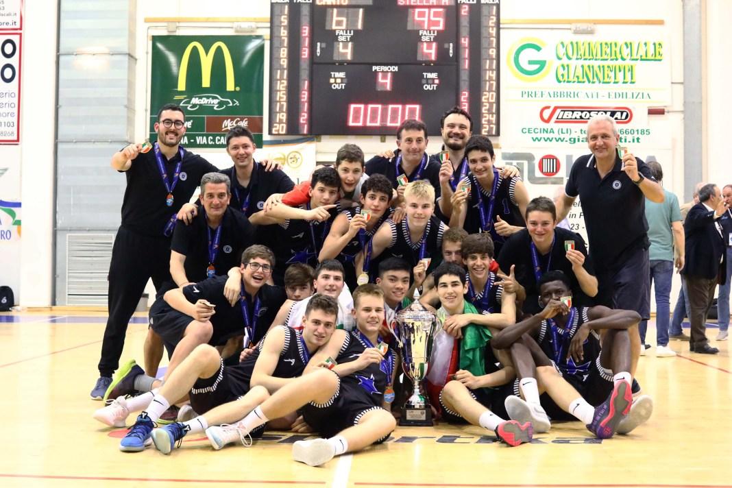 Eccellenza U15 basket 2019