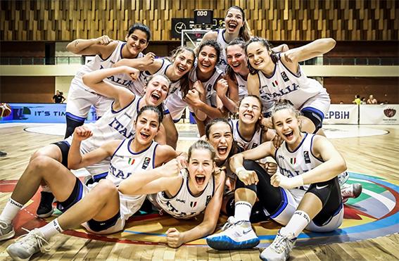 Eurobasket U18 femminile: Italia in finale!, battuta la Russia 75-49
