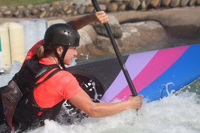Stefanie Horn bronzo in Coppa del Mondo Canoa Slalom a Markkleeberg