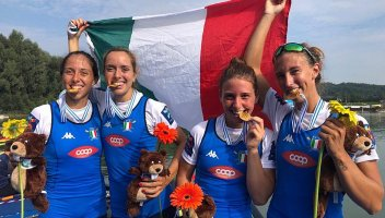 Mondiali canottaggio Linz: si comincia con 3 ori e 7 medaglie