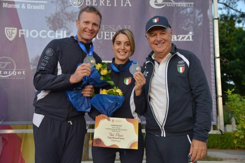 Europei Fossa Olimpica – De Filippis Rossi di bronzo nel Mixed Team