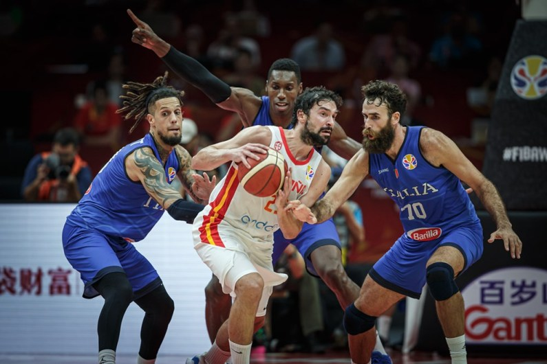 Mondiali Basket, Italia-Spagna 60-67. Azzurri eliminati