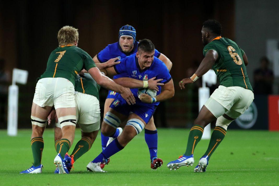 mondiali rugby italia sud africa