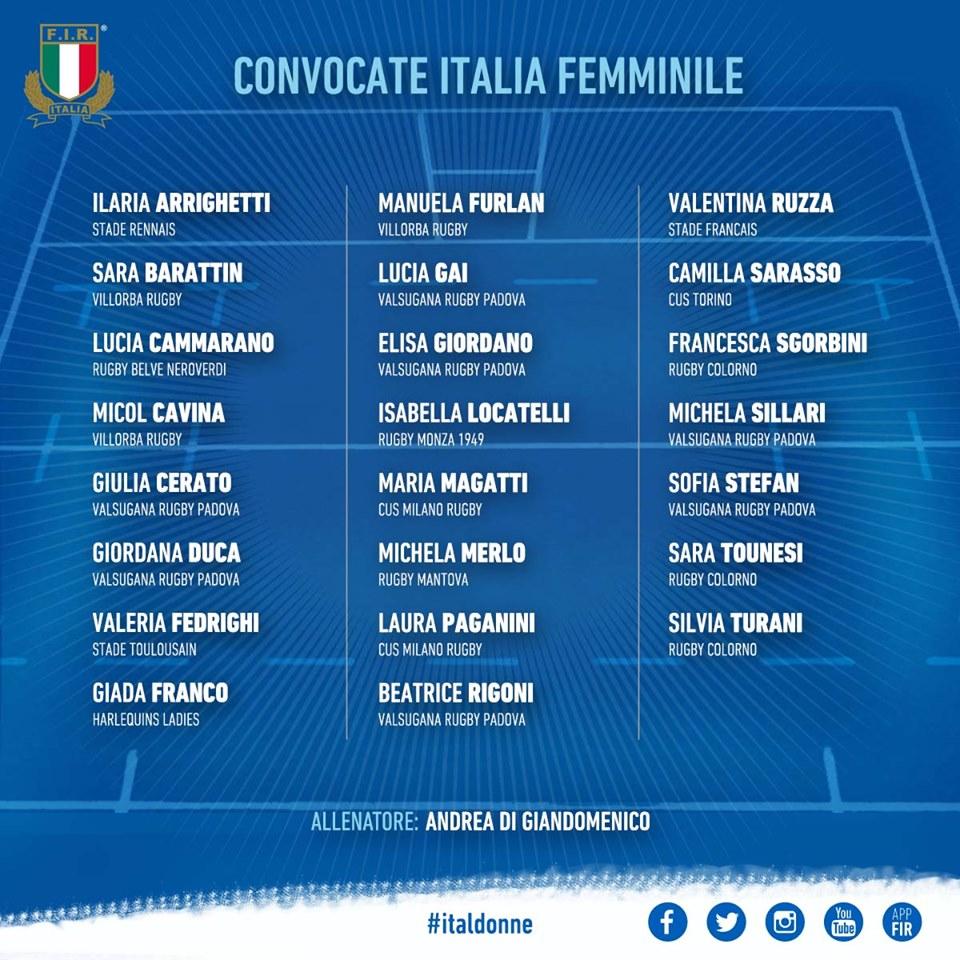 Italia Giappone rugby femminile