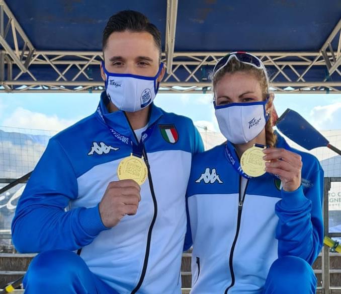 Sebastiano Panteca e Annalisa Cozzarini