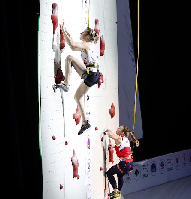 Mondiali di arrampicata