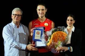 Foto FIVB: Christiane Fürst wurde bei der Club-WM zur besten Mittelblockerin gewählt
