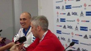 Handball-WM 2013 Serbien - Pressekonferenz am 19.12.2013 - Sasa Boskovic (Serbien) - Foto: SPORT4Final