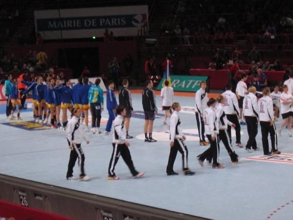 Handball WM 2007 in Frankreich, Paris - Foto: Frank Zepp