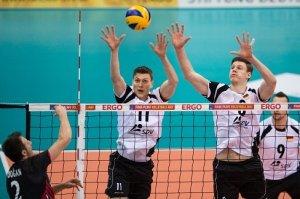 Foto: Conny Kurth - Auch im Block war das deutsche Volleyball-Team der Türkei überlegen