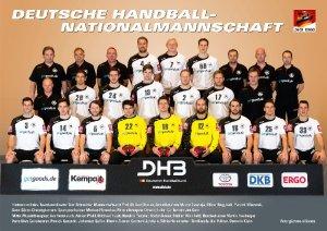 Deutsche Handball-Nationalmannschaft der Männer - Foto: DHB/picture-alliance