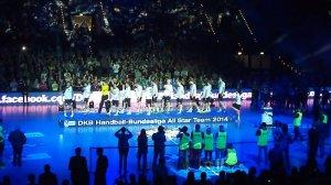 All-Star-Game: Deutsche Handball-Nationalmannschaft am 01.02.2014 in Leipzig - Foto: SPORT4Final