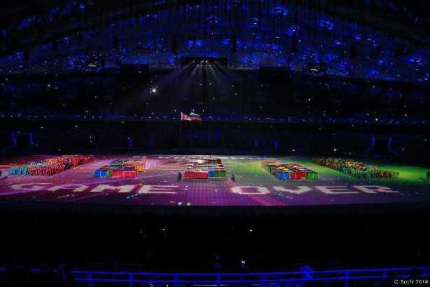 Sotchi 2014 Paralympics: Abschlussfeier der Paralympischen Winterspiele - Foto: Sotchi 2014 Paralympic Winter Games