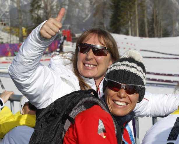 Sotchi 2014 Paralympics: Andrea Eskau und Andrea Schade - Foto: WE DO communication