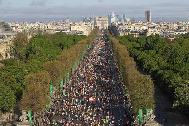 Paris-Marathon 2014 - Foto: ASO / M.MAINDRU