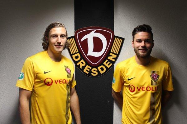 Dynamo Dresden: Michael Hefele und Niklas Kreuzer - Foto: Dynamo Dresden